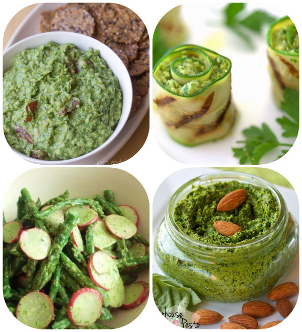 collage spring foods