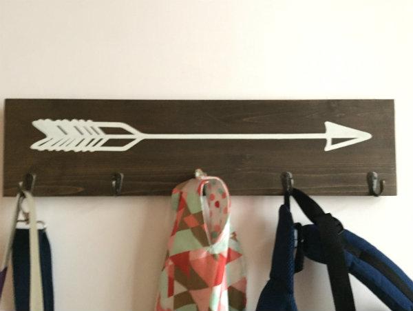 R- arrow