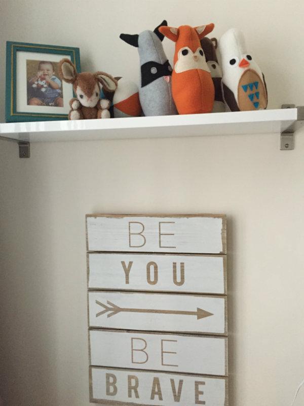R- shelf