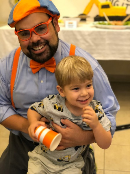 rush party blippi